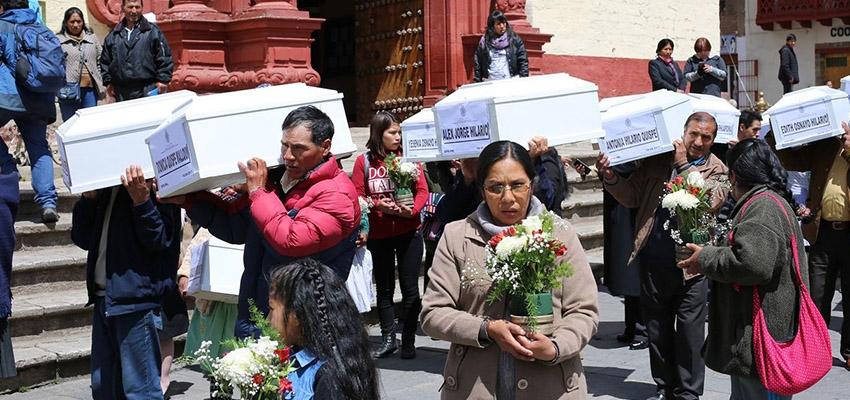Con sentencia, pero sin justicia: el caso peruano