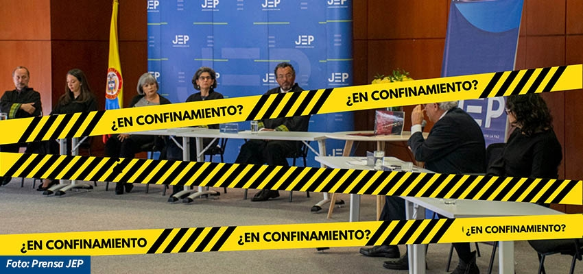 ¿La transición colombiana en confinamiento? Retos de la participación de víctimas en la JEP en medio de la virtualidad